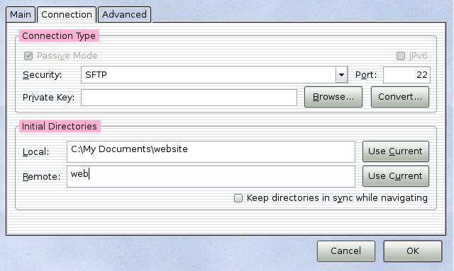 How to transfer files securely