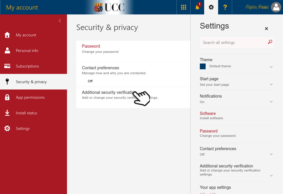 Setting up Multi-Factor Authentication App Passwords
